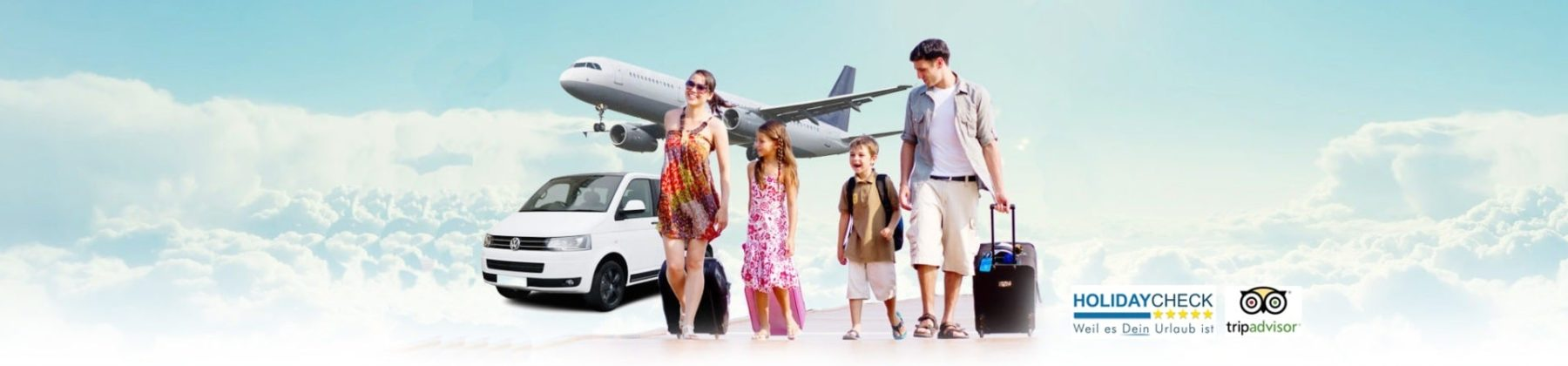 Mallorca Flughafen Transfer zum Hotel